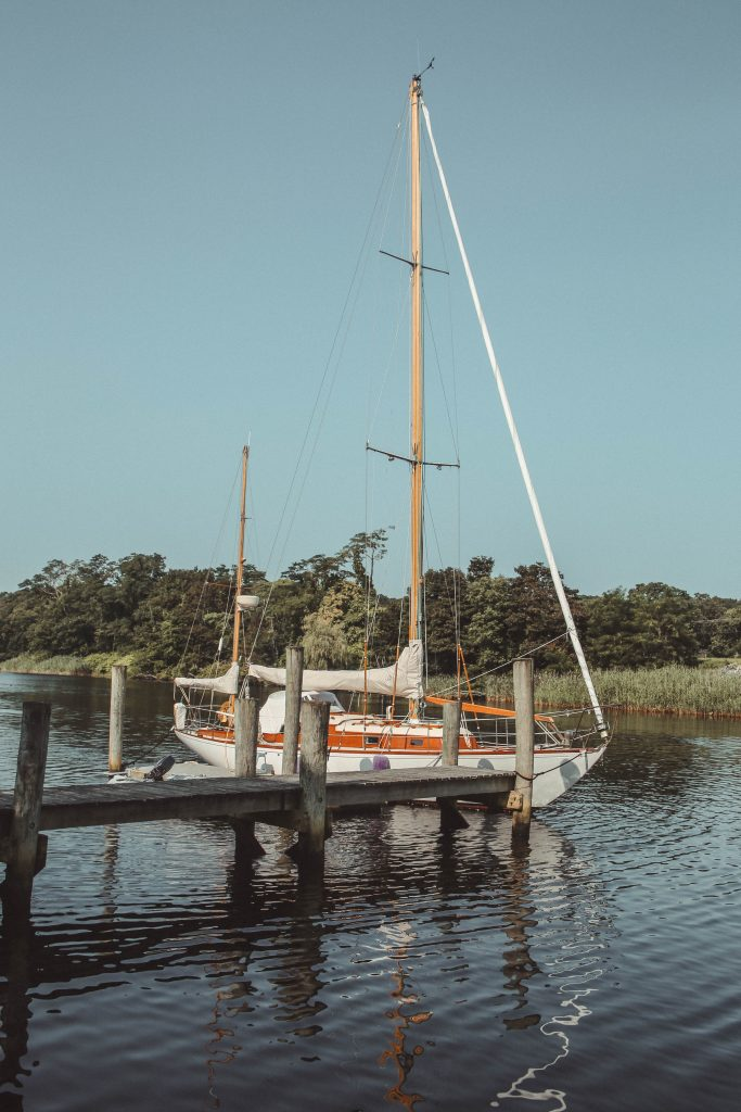 Sailboat in Westerly Rhode Island