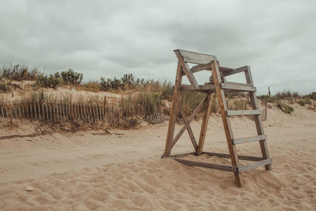 East Matunuck State Beach Lifeguard Stand