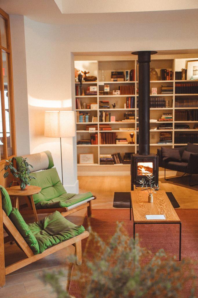 The Ultimate Travel Guide to Hudson New York - Rivertown Lodge Lobby